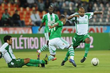 Deportivo Cali perdió 4-0 con Atlético Nacional en el vamos de la Liga Postobón I