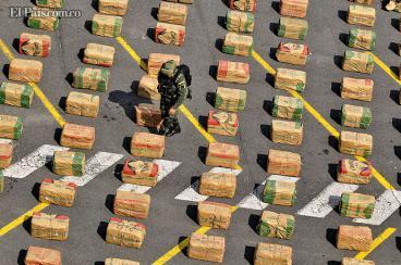 Cargamento de marihuana fue incautado en la vía Panamericana