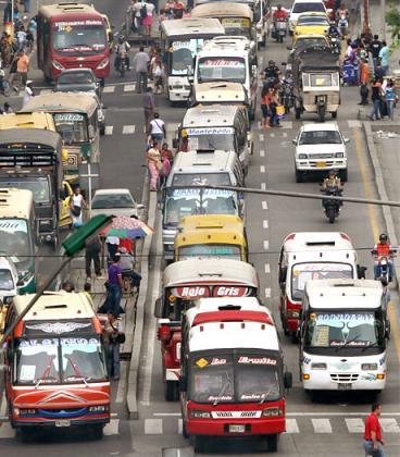 Salen 24 rutas de buses de la Avenida Pasoancho a partir de este miércoles