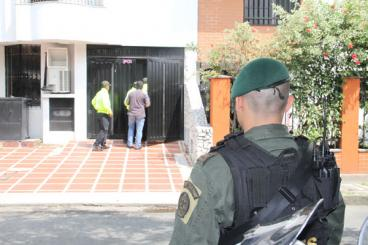 Policía de Cali allanó 9 inmuebles por lavado de activos, enriquecimiento ilícito y testaferrato