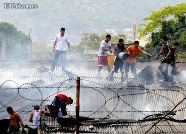 Al menos 18 muertos por Incendio en una cárcel de San Pedro Sula, Honduras