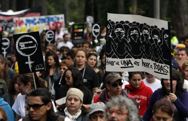 500 mujeres han sido asesinadas en lo que va corrido de 2012 en Colombia