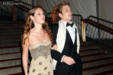 La colombiana Tatiana Santo Domingo se casa con miembro de la realeza de Mónaco