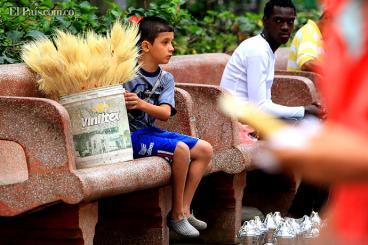 Niños que trabajan en las calles de Cali siguen siendo un problema preocupante