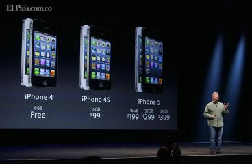 El esperado iPhone 5 llegaría a Colombia después de octubre