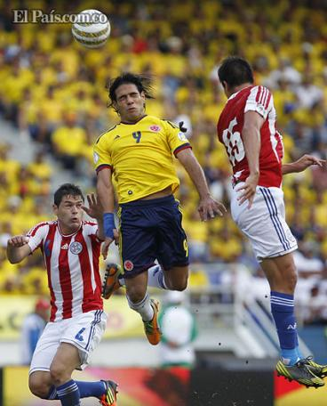 Colombia vs. Paraguay: disfrute las mejores imágenes del triunfo 'cafetero'