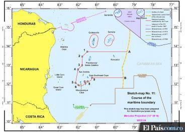 Estas son las implicaciones del fallo de la CIJ sobre la frontera entre Colombia y Nicaragua