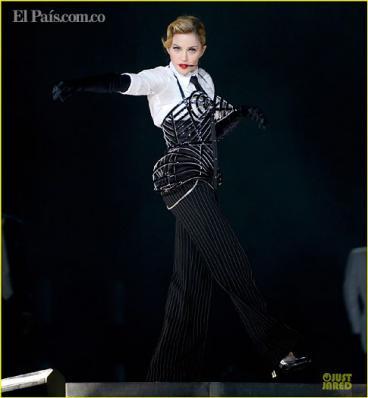 Fans madrugaron al concierto de Madonna en Medellín