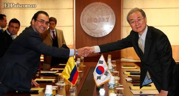 Este mes se firmará Tratado de Libre Comercio con Corea del Sur