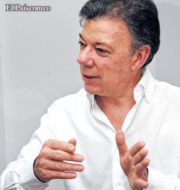 """Cali está saliendo adelante"": presidente Juan Manuel Santos"
