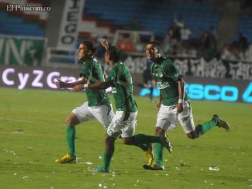 Con goles de Lizarazo y Cuéllar, Deportivo Cali derrotó al Once Caldas en el Pascual
