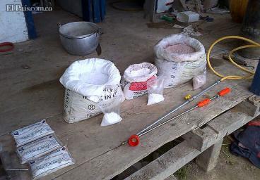 Desmantelan dos laboratorios de cocaína en el Valle del Cauca