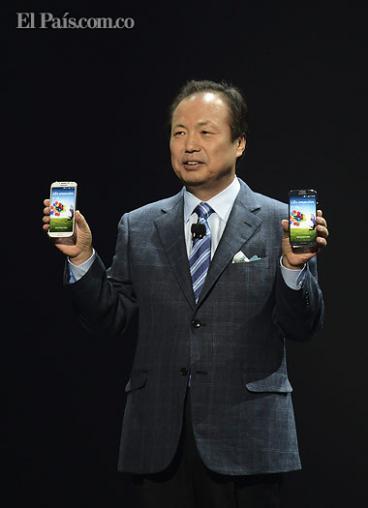 Samsung revela el esperado Galaxy S4, de cinco pulgadas, en Nueva York