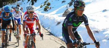 Sergio Luis Henao y Nairo Quintana siguen al mando en el País Vasco