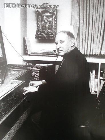 Falleció en París el músico colombiano Rafael Puyana