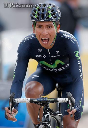 Ciclista colombiano Nairo Quintana asombra en Europa
