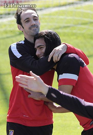 Falcao García volvió a los entrenamientos tras ultimar su fichaje por el Mónaco