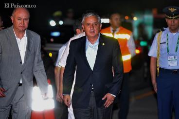 Guatemala eliminará visa para los colombianos: Otto Pérez Molina