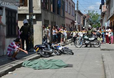 Balacera en El Vallado, oriente de Cali, dejó dos muertos y tres capturados