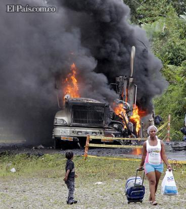 Balance del primer día de paro indefinido realizado por los mineros en Colombia