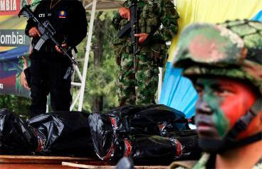 Santos felicitó al Ejército por muerte de alias Zeplin, cabecilla de las Farc en el Cauca