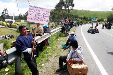 No hay acuerdo entre Gobierno y promotores del paro agrario en Boyacá