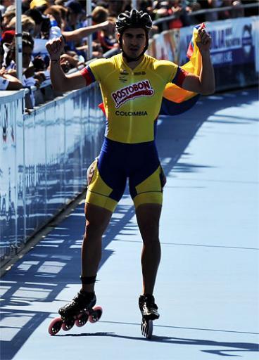Colombia, campeón de la pista en el Mundial de Patinaje