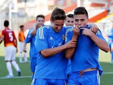 El pastuso 'Juanjo' Narváez debutó con Real Madrid Castilla