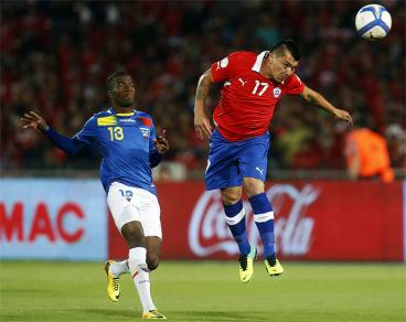 Chile y Ecuador se clasificaron al Mundial Brasil 2014