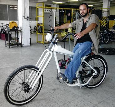 Bicicletas con motor, emprendimiento hecho en Cali