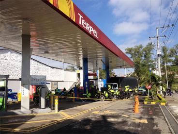 Popayán, sin combustible por bloqueo en la vía Panamericana