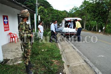 Un militar muerto y otro herido en atentado de las Farc en Tuluá