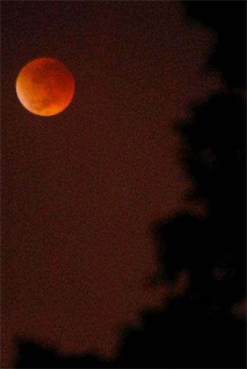El próximo 15 de abril los colombianos podrán ver un eclipse lunar
