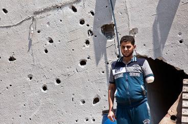 La discapacidad, una de las consecuencias del conflicto en Gaza