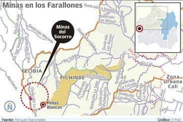 Minería ilegal de oro sigue tiñendo de tragedia a Los Farallones de Cali