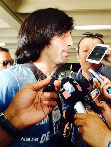 Ernesto 'Tecla' Farías ya está en Cali para arreglar con América