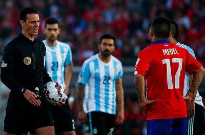 Wilmar Roldán cumplió con la responsabilidad de la final de la Copa América