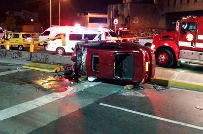 Video: conductor muerto en túnel de Avenida Colombia perdió el control del vehículo