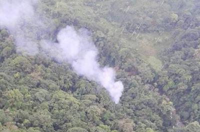 Quince policías muertos y dos heridos deja accidente de helicóptero en Antioquia