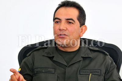 Brigadier General Nelson Ramírez será el nuevo comandante de la Policía de Cali
