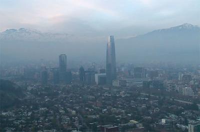 Video: emergencia ambiental en Santiago de Chile por alta contaminación