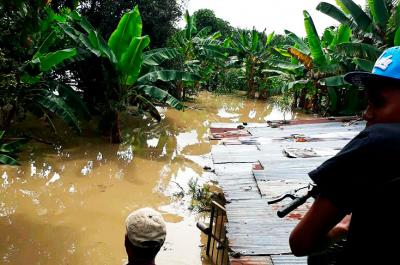 Alerta en zona rural de Florida por desbordamiento del río Desbaratado