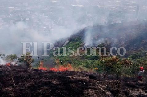 110 incendios forestales se reportaron en el mes de junio en Cali