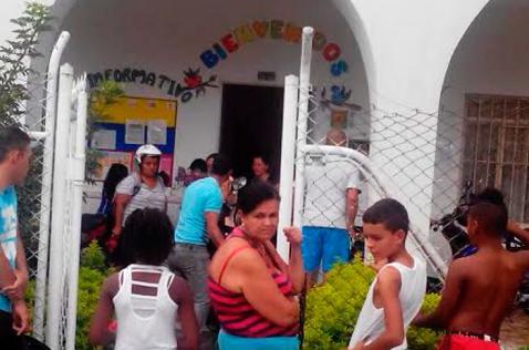 Madre comunitaria resulta herida durante intento de robo en jardín infantil de Tuluá