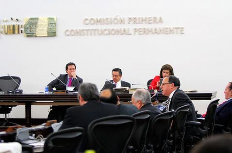 Equilibrio de Poderes será debatido en plenaria de la Cámara este miércoles
