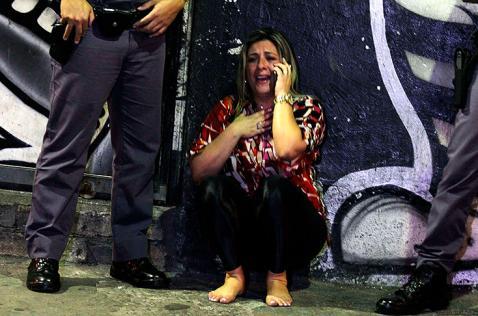 Ocho personas murieron baleadas en sede de hinchas del Corinthians en Brasil