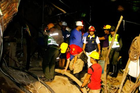 Encuentran cuerpo de sexta víctima en la mina de Riosucio, Caldas