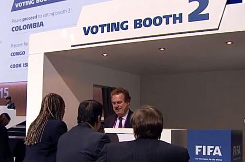 Colombia ya votó para elegir al presidente de la Fifa