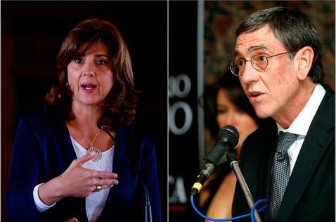 Canciller Holguín ya está en la mesa de diálogos en Cuba