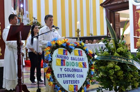 Último adiós para 17 víctimas de la tragedia en Salgar
